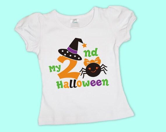 My 2nd Halloween, Girl's Halloween Shirt