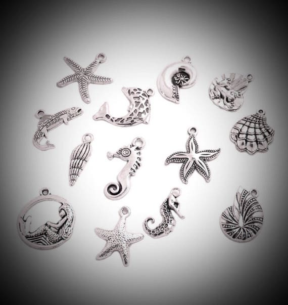Lot 10pcs U Turning Horses Silver European Bracelet Spacer Charm Beads W#216