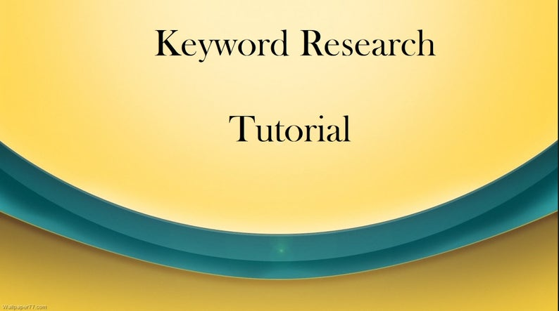 How To Find Keywords For Etsy Store, Good Keywords, Keyword Tutorial, Keyword Help, Research Tutorial, How to Search For Keywords