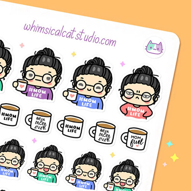 Momlife Planner Stickers Mom Life Planner Stickers Mom Life image 0