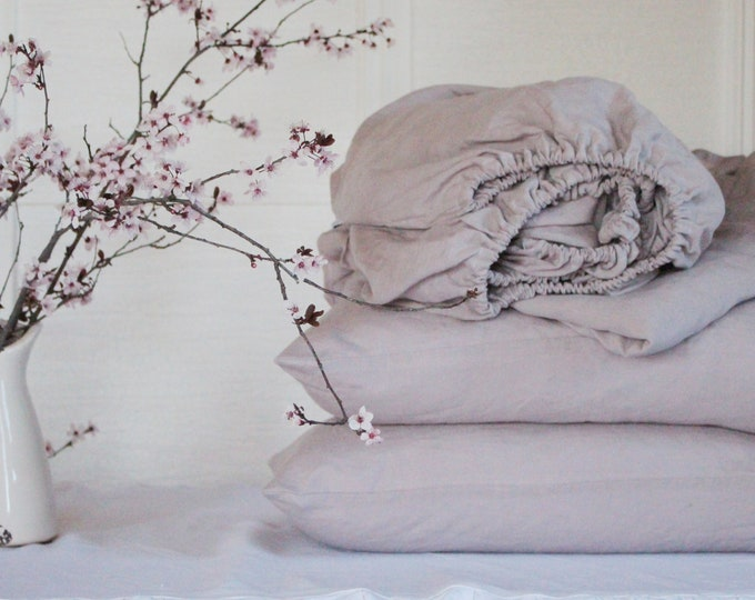 Set linen bedding
