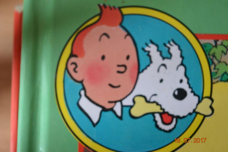 Comics of the adventures of Tintin and Milou image 0