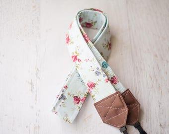 floral camera strap, camera strap, dslr camera strap, womens gift, photographer gift, nikon camera strap, camera accessory, canon strap