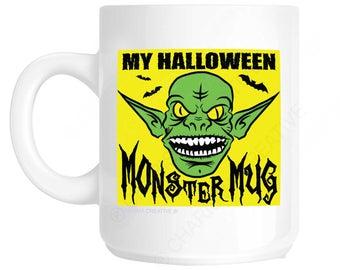Halloween Monster Novelty Fun Mug CH381