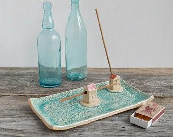 incense holder ceramic, incense burner, burning stick holder