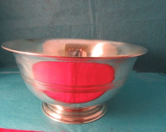 TIFFANY & CO antique sterling silver paul  Revere bowl