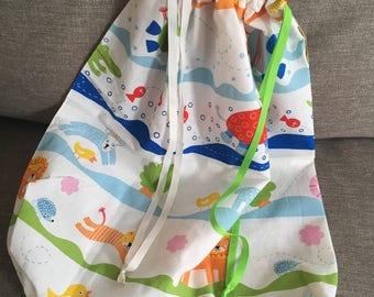 Colourful Laundry Bag, Travel Laundry Bag, Storage Bag