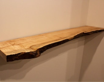 Live Edge Shelf Etsy