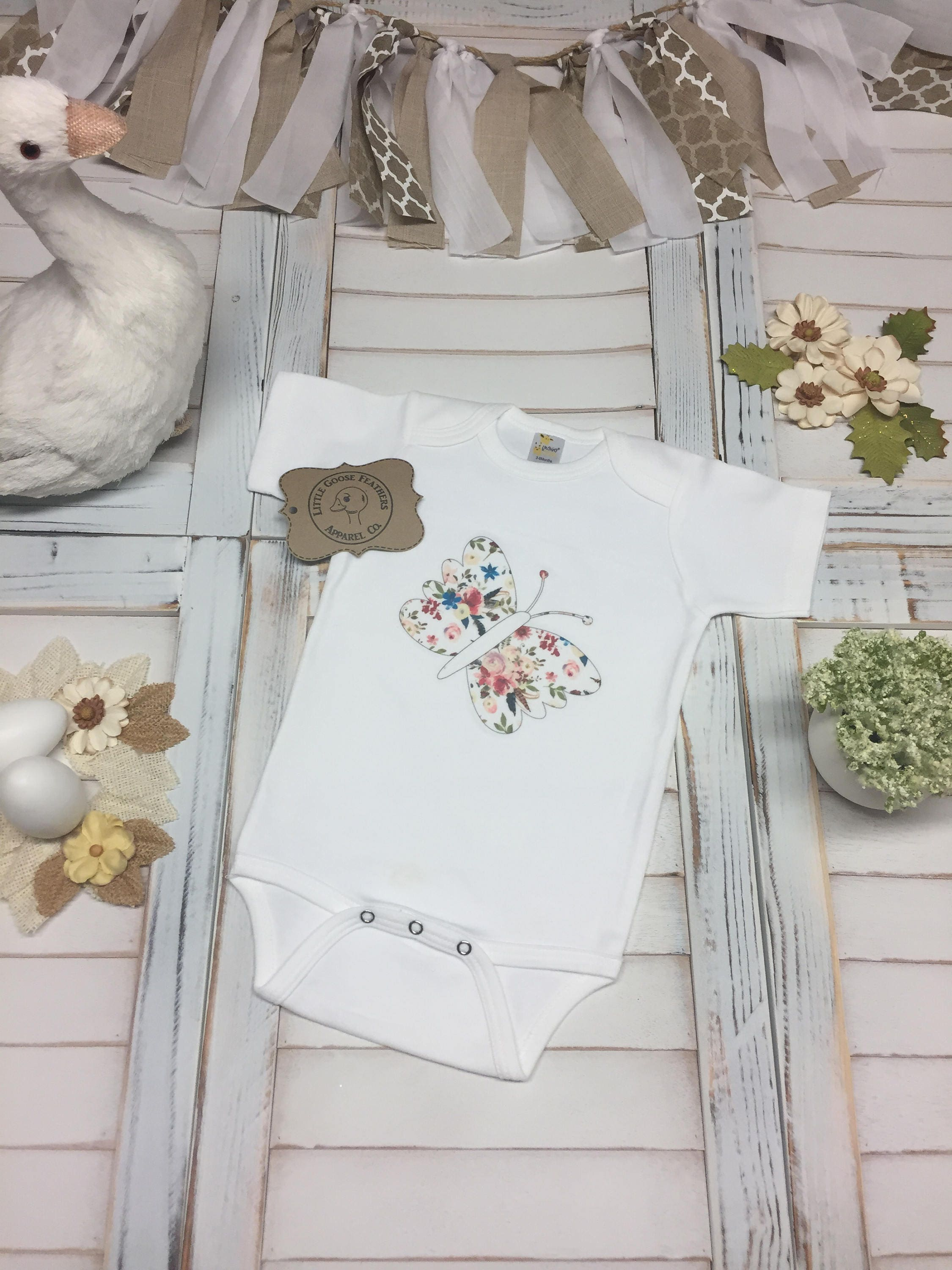 Cute butterfly with floral bouquet pattern wings design cute girls cute butterfly with floral bouquet pattern wings design cute girls bodysuitonesie toddler t shirt or girls boho style fringe dress izmirmasajfo