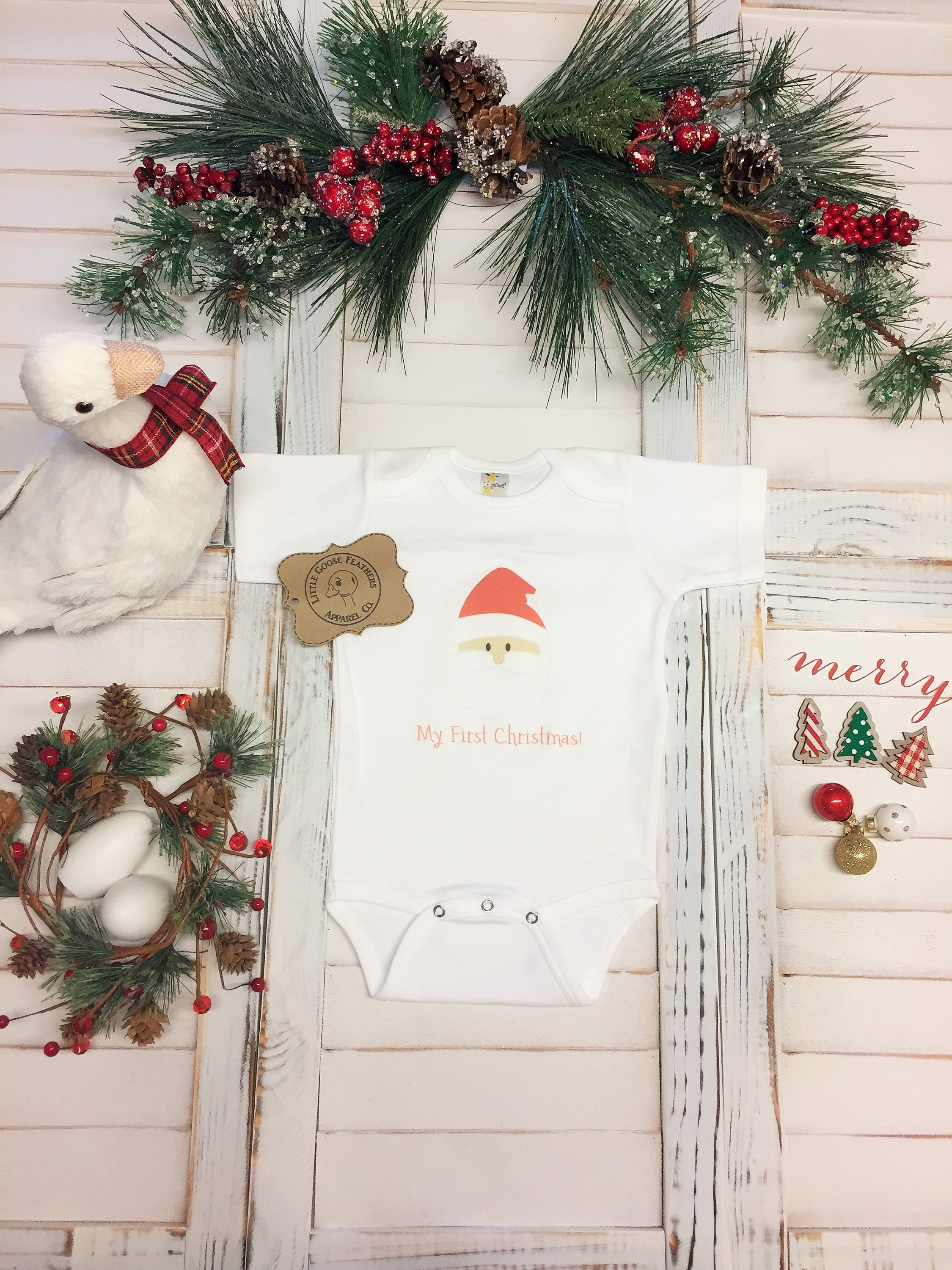 1st Christmas Outfit, Baby Holiday Pjs, Christmas Gifts 2018, Baby ...