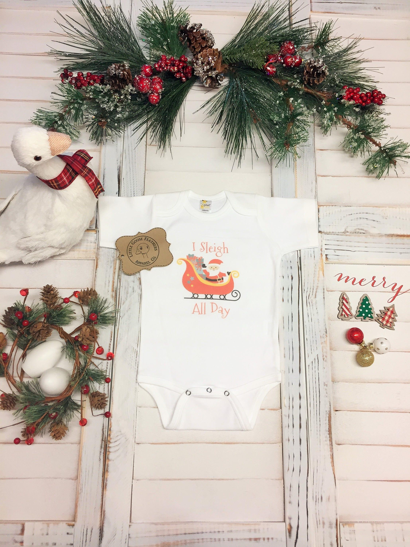 Baby Christmas Pj\'s, 1st Christmas Outfit, Christmas Pajamas ...