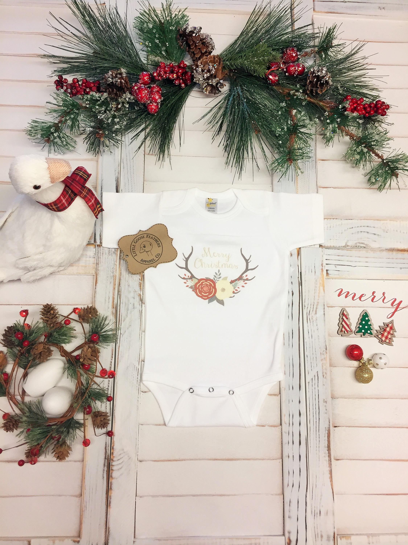 Boho Christmas Ideas, Floral Antlers, Boho Christmas Dress, Merry ...
