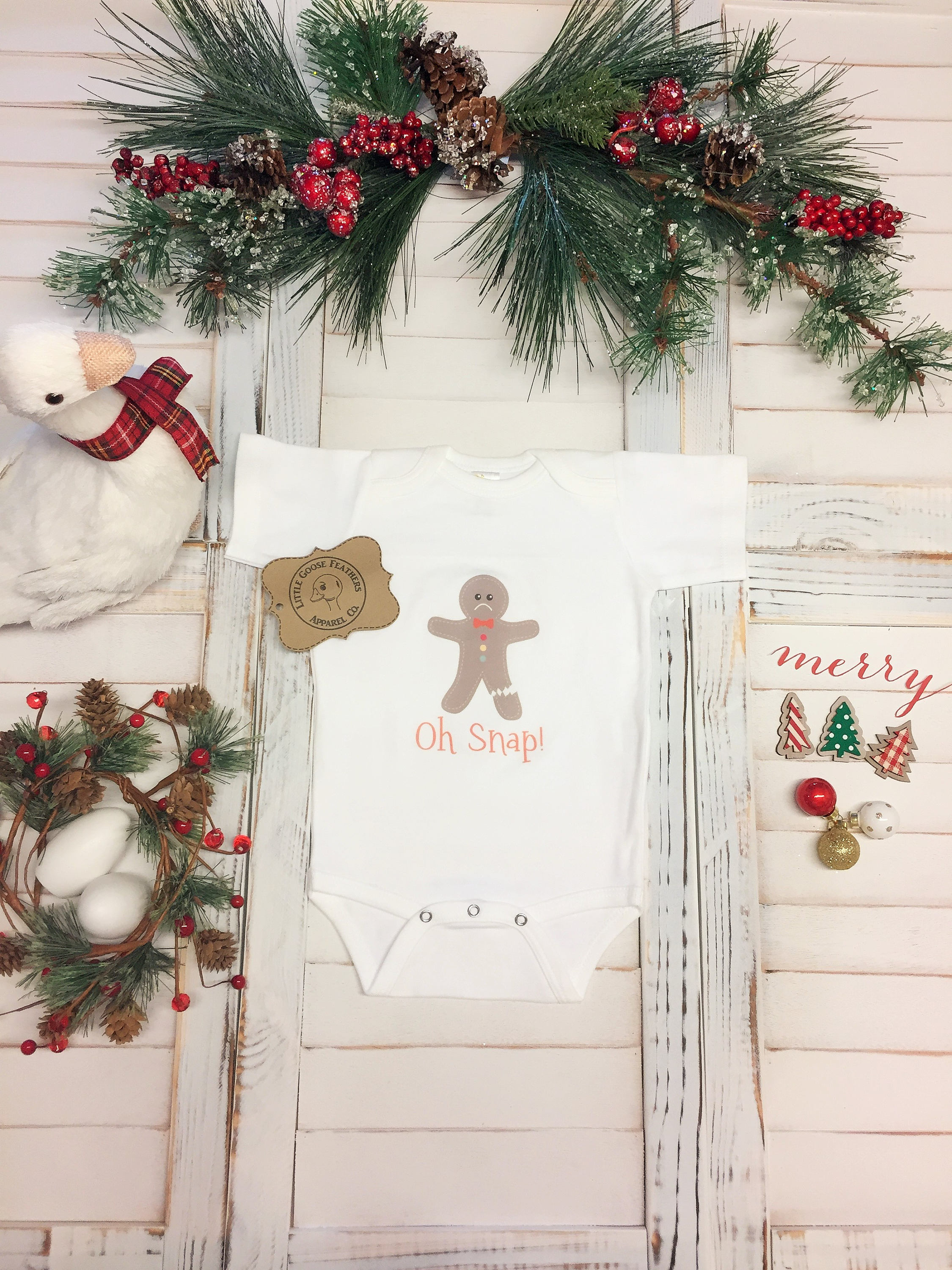 Oh Snap, Oh Snap Shirt, Gingerbread Shirt, Baby Gifts 2018, Best ...