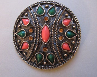 Vintage Emmons Brooch with Matching Bracelet