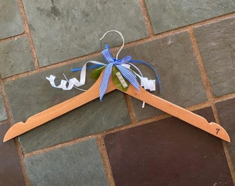 """Coat Hangers --fancy gift and functional for all ages     """"It's a Boy"""""""