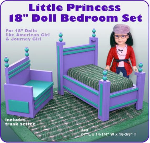 Little Princess 18 Doll Bedroom Set PDF Download | Etsy