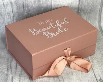 Large A4 Wedding Gift Boxcard And Gift Keepsakesmemory Box Etsy