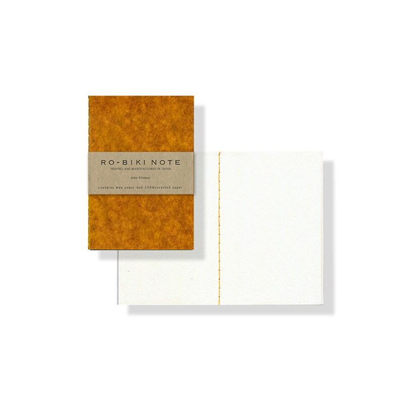 Plain Yellow triangles Textile Series RO-BIKI NOTE Yamamoto image 0