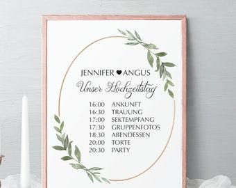 Wedding Welcome Sign, Printable Welcome Board for Wedding, Greeting Sign to Wedding for Guest, Guest greeting sign wedding in green #024