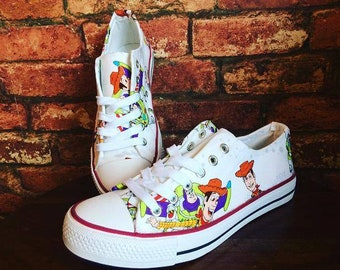 low priced 382a8 e71db Toy Story Inspired Custom Trainers