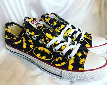 7e77b614a62535 Batman Inspired shoes - Converse - Trainers - Mens - Women s - Children s