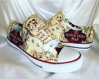 Harry Potter Inspired Marauders Map Shoes