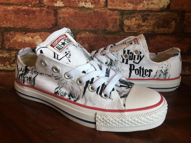 abea000710dd9f Harry Potter Converse Shoes Trainers Harry Potter Shoes