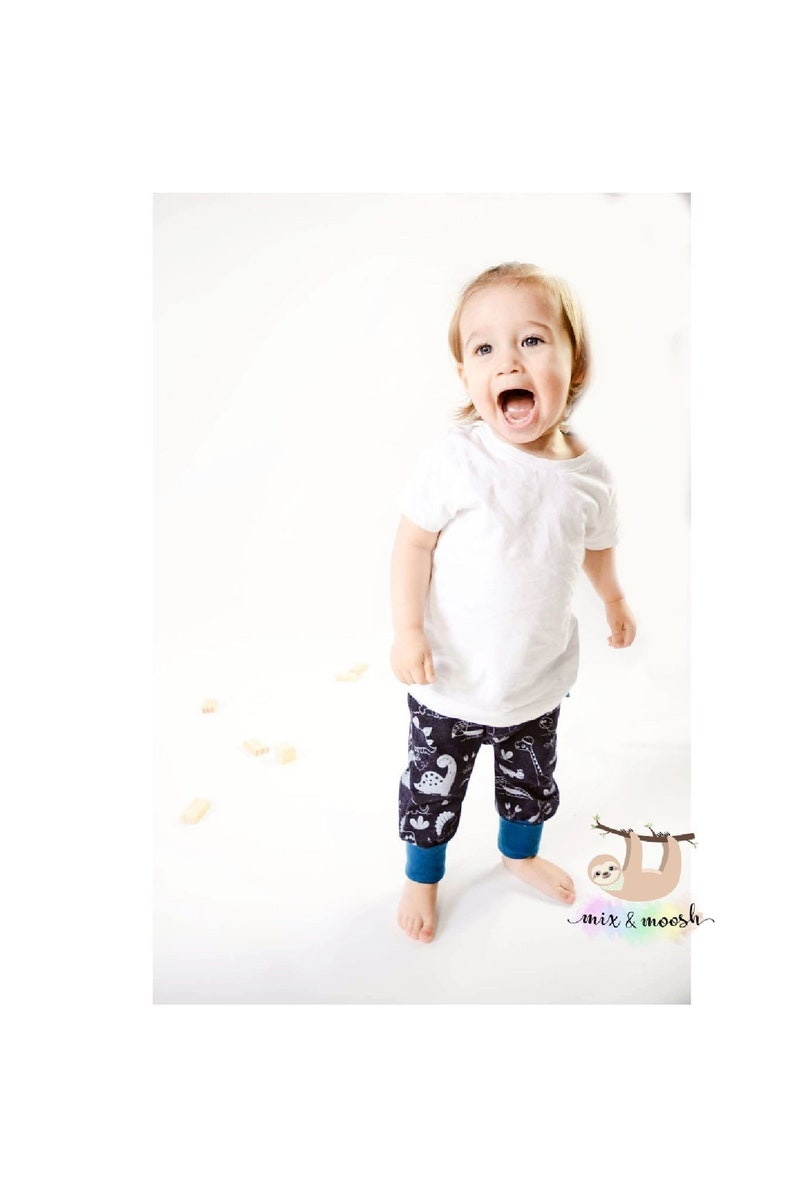 Organic Dinosaur Clothes Boys Trousers Girls Leggings Etsy