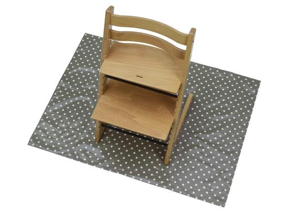 High Chair Splash Splat Mat Baby Play Mat Multipurpose Wipe Clean Messy Play Ove