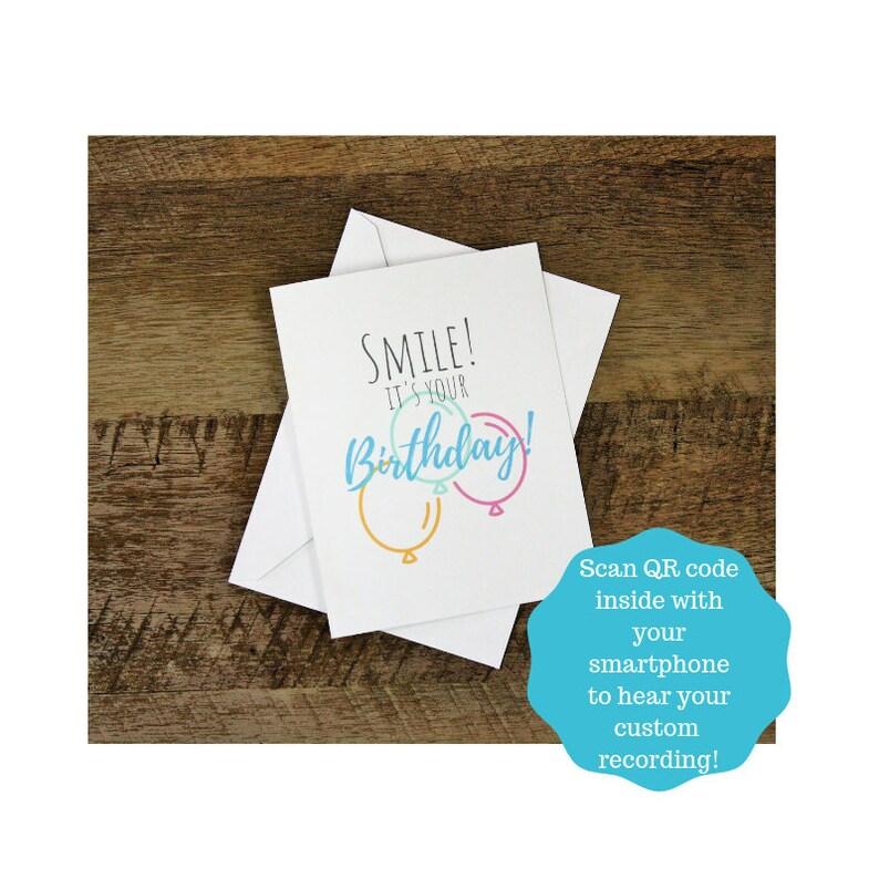 Custom Birthday Card Personalized