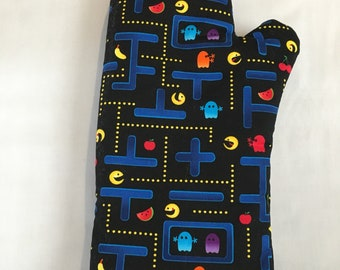 Pacman Fully Functional Oven Mitts