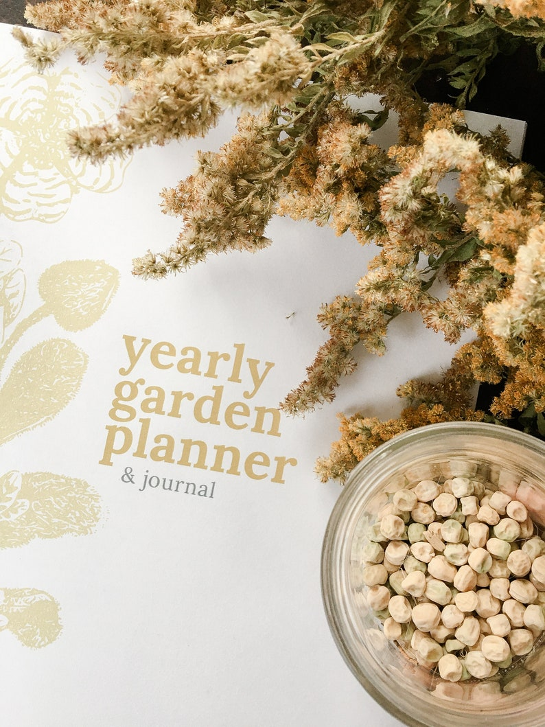 Vegetable Garden Garden Planner Journal Notebook Printable image 0
