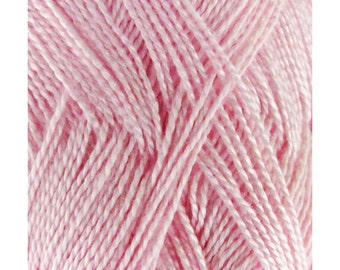 Soft Bamboo Tencel Fine Yarn - 4/8 Skeins - 01 Pink Dust