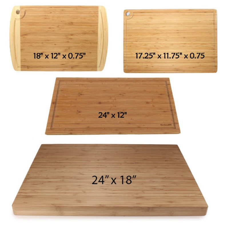 Personalized Bamboo Cutting Boards Cat Couple Wedding Gift and Serving Platter