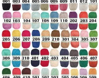 Simply Soft Cotton Blend Yarn Aran