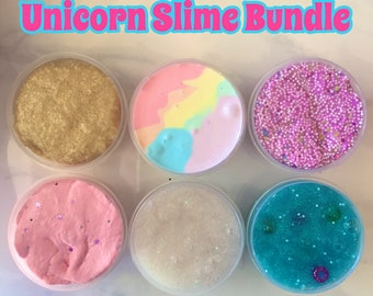 15 Ounce Unicorn Slime Bundle