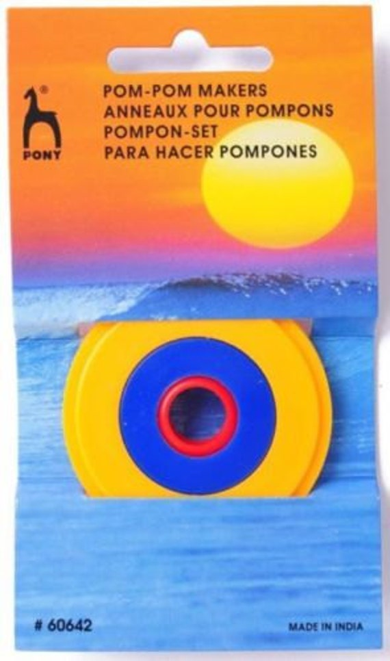 Pony Giant Pom Pom Maker 13cm