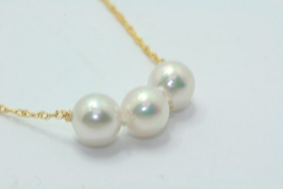 4mm Loose Akoya Cultured Pearls Ten 5 Pearls Full Drilled Add A Pearl