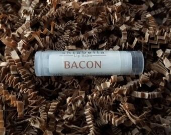 Bacon Lip Balm - Flavored Lip Balm - Lip Care - Dry Lips - Natural - Handmade