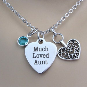 Best Stepmom Stainless Steel Laser Engraved Necklace With Silver Heart Charm