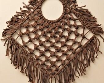Macrame Handmade / Macrame Wall Hanging / Wall Decor /  Boho / Wall Art / Bohemian /Rope Art/Rope Weaving/