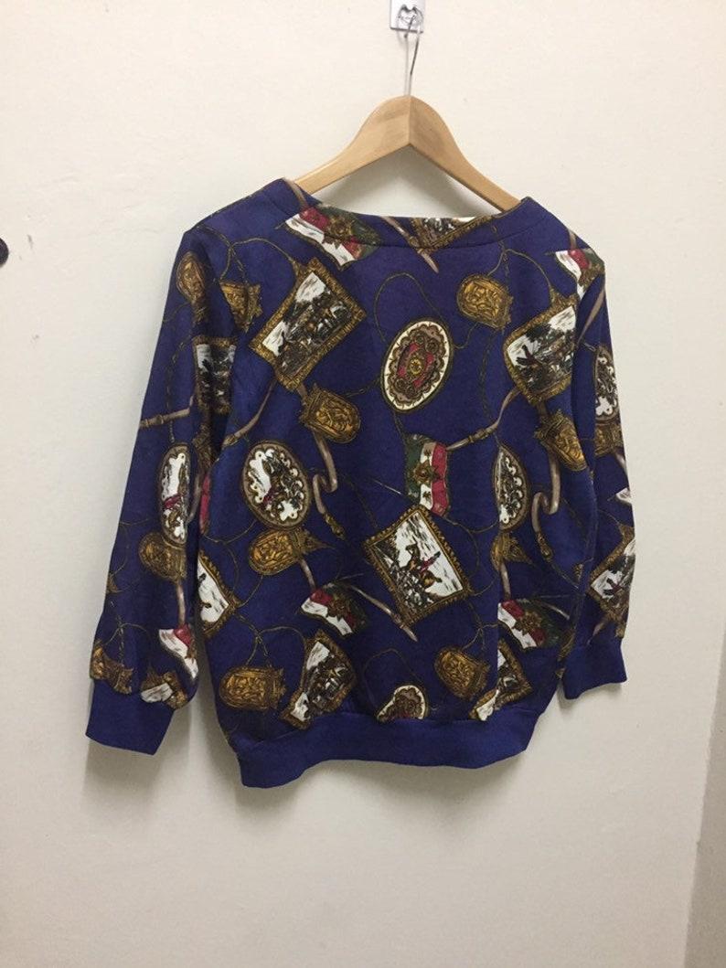 Vintage 90s Cecilene full print sweatshirts