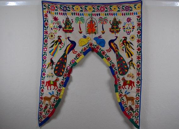 Authentische indische t r volant home dekor yoga for Indische tur