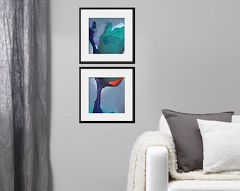 Rose Diptych / Limited Edition Giclée Print