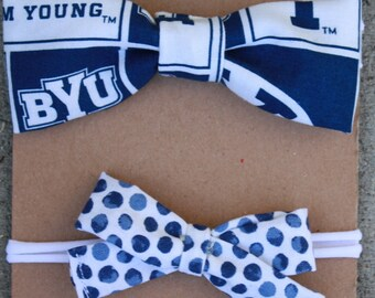 BYU Headband Bow Pack