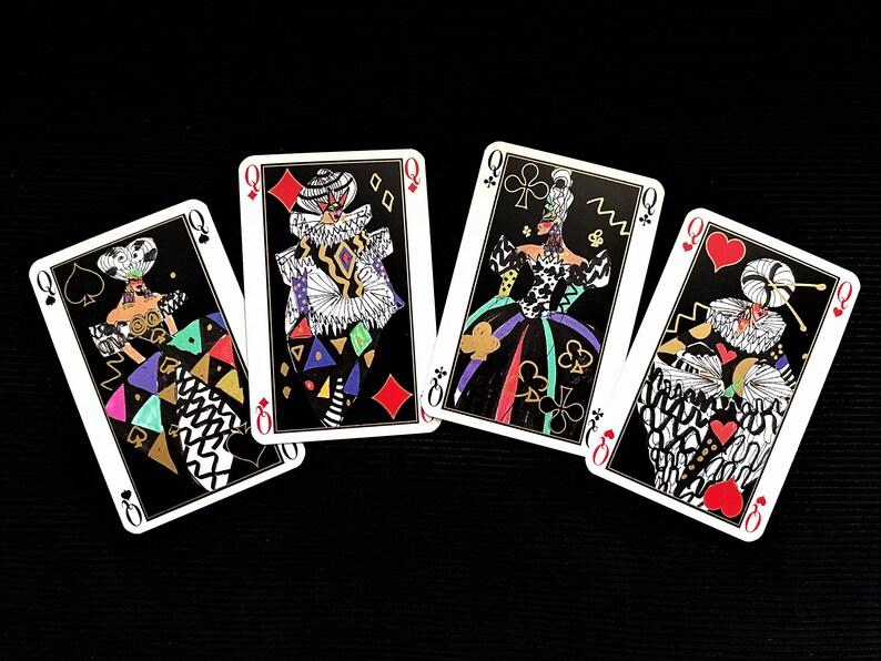 Grimaud Set of 54 vintage cards by fashion designer Louis F\u00e9raud