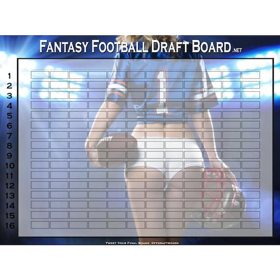 Free Fantasy Draft Board