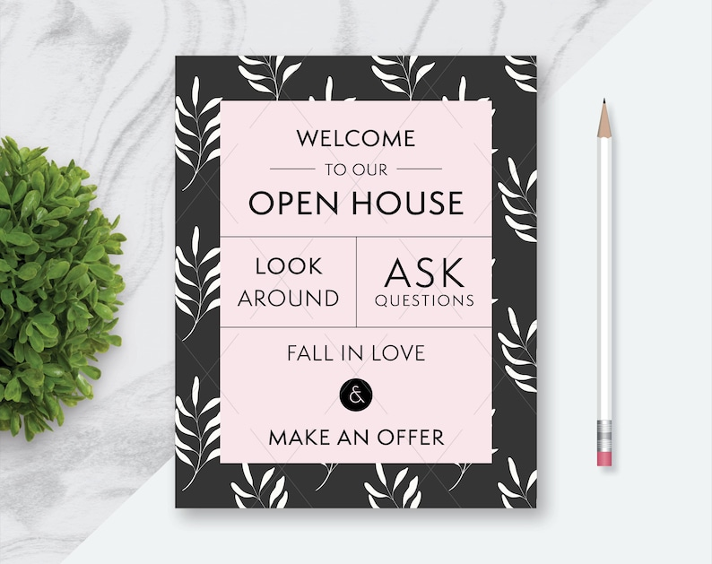 image about Welcome to Our Open House Printable named Accurate Estate \