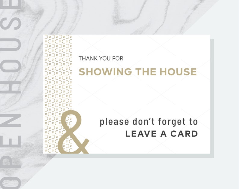 PDF Century 21 Real Estate Welcome to Our Open House Prints Please Leave a Card/_V2 Open House /& Please Sign In Please Remove Your Shoes