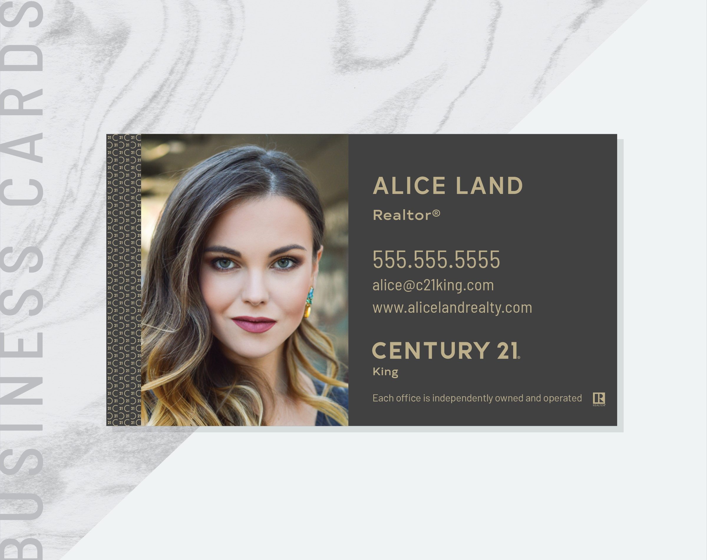 PDF Made to Order Century 21 Business Card Real Estate